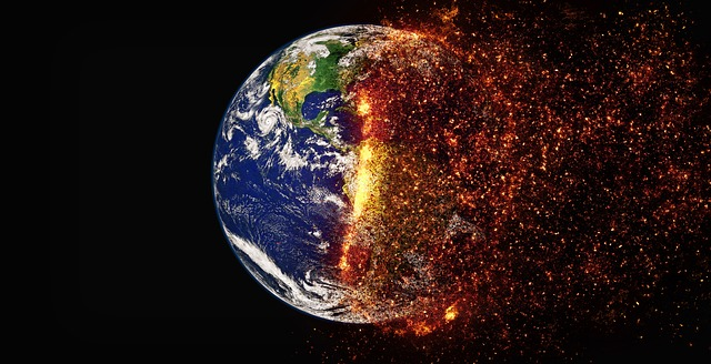 שורפים את כדור הארץ